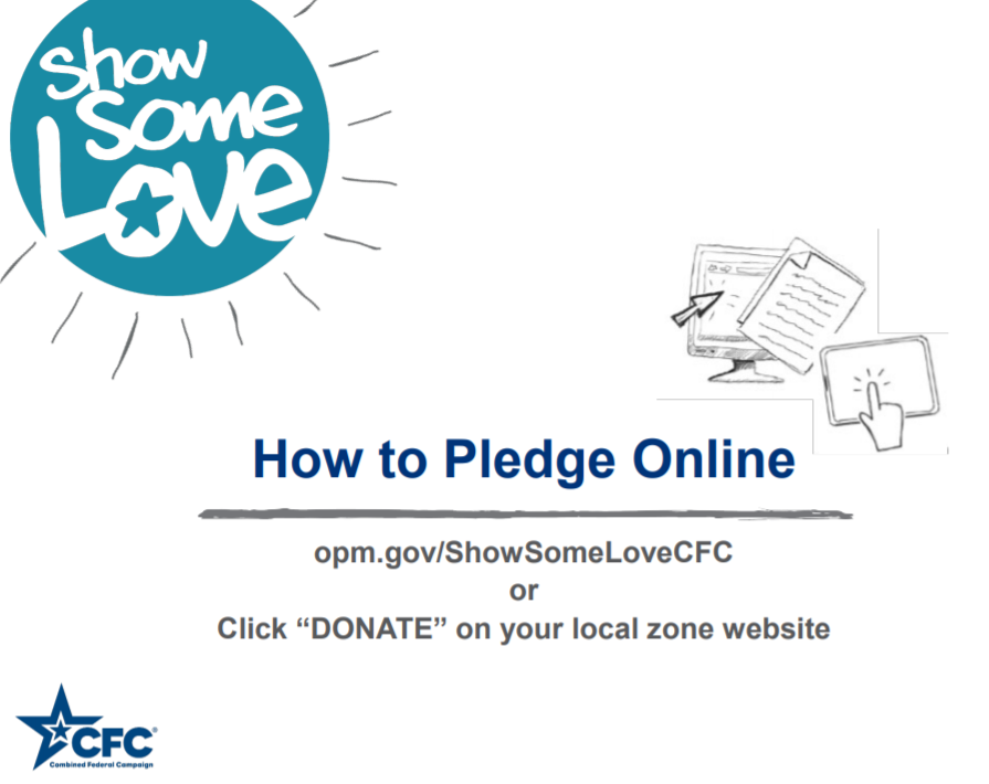 Cover slide from How To Pledge Online Walkthrough